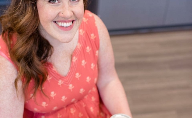 Curious & Curiouser Podcast, Episode 14:  Food, Mindful Eating, and Emotional Bananas with Liz Winters, NTP